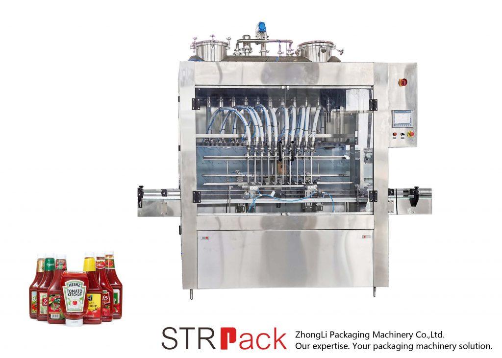 Автоматическая машина для фасовки соусов