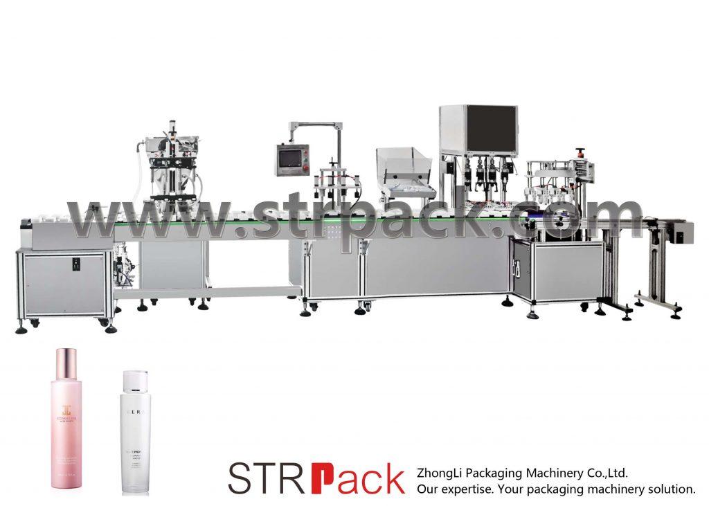 Автоматическая машина для наполнения и укупорки водной эмульсии