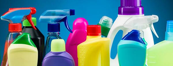 Бытовые чистящие средства разливочные машины