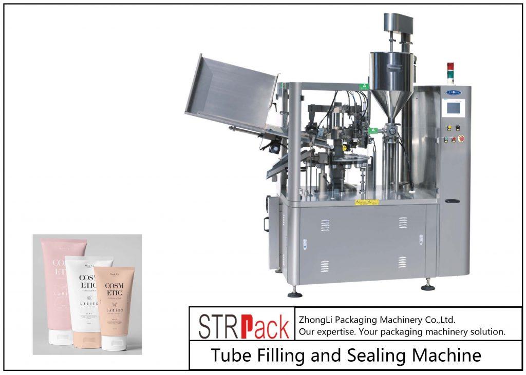 Машина для наполнения и запайки пластиковых туб SFS-100