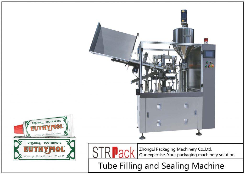 Машина для наполнения и запайки металлических туб SFS-60Z